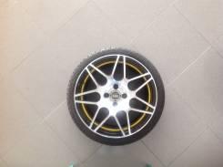 Колёса в сборе, диски Alcasta m28 4x98 r16+резина toyo TDRB r16 195/45. 6.5x16 4x98.00 ET38 ЦО 58,6мм.