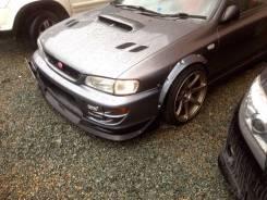 Накладка на решетку бампера. Subaru Impreza WRX STI, GC8 Subaru Impreza, GC8. Под заказ