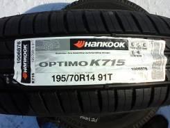 Hankook Optimo K715. Летние, 2015 год, без износа, 4 шт