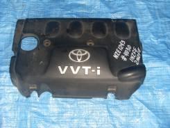 Крышка двигателя. Toyota Corolla Fielder, NZE120 Toyota Corolla, NZE120, 18 Двигатели: 1NZFE, 2NZFE