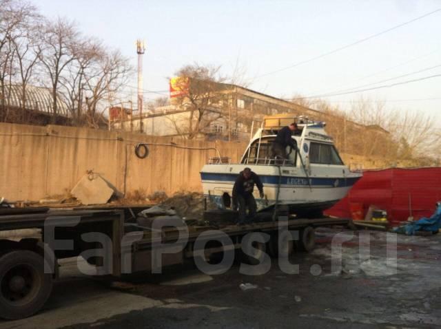 Доставка Катеров, ЯХТ, Лодок любых размеров по всей России