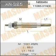 Свеча накала. Nissan: Terrano, Mistral, Safari, Terrano2, Homy, Caravan, Datsun Truck Двигатели: TD27T, TD42T, TD27TI