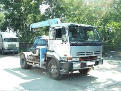 Nissan Diesel. Продам седельный тягач с манипулятором , 21 239 куб. см., 5 000 кг.