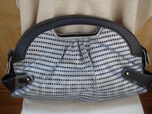 c6c437217c66 Женская сумка Jacques Le Corre, нат. кожа, чёрный/серебро, Франция ...
