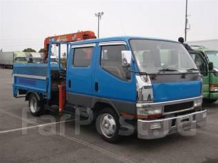 Mitsubishi Canter. широкий двухкабинник с КМУ 2.6т. без пробега, 4 600 куб. см., 2 000 кг. Под заказ