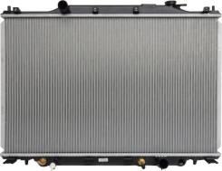 Радиатор охлаждения двигателя. Lexus LS600h, UVF45, UVF46 Lexus LS600hL, UVF46, UVF45 Lexus LS460, USF45, USF46 Lexus LS460L, USF46, USF45 Двигатели...