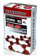 Windigo. Вязкость 5W-40, синтетическое