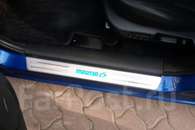 Накладка на порог. Mazda Axela Mazda Mazda6