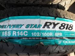 Yokohama Delivery Star RY818. Летние, 2016 год, без износа, 2 шт