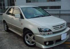 Накладка на фару. Toyota Harrier