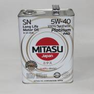 Mitasu. Вязкость 5W-40, синтетическое