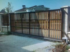 Ворота откатные, заборы, ремонт автоматики, комплектующие, сваи.