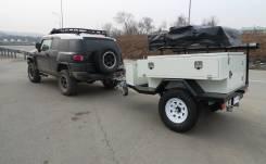 Camper. Кэмпер-трейлер Off-Road Trailer Caravan
