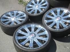 Хром Myrtle + 265/30R22 Хариер, Лексус, Хайлендр Pirelli Япония!. 9.0x22 5x114.30 ET20