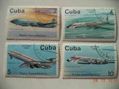 Куба - Самолеты 1988 год