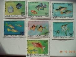 Вьетнам, 1981, Декоративные рыбки