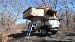 Camper. Кэмпер-трейлер Off-Road Trailer Caravan