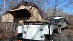 Camper. Кэмпер-трейлер Off-Road Trailer Caravan с раскладной палаткой