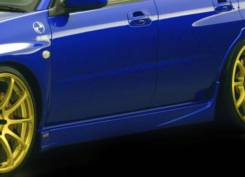 Порог пластиковый. Subaru Impreza, GDA, GDB