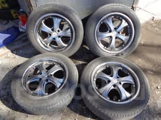 Комплект колёс с летней резиной (литьё) 215/60R17. 7.0x17 5x114.30 ET38 ЦО 70,0мм.