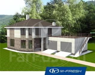 M-fresh Meridian-зеркальный. 200-300 кв. м., 2 этажа, 4 комнаты, дерево