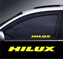 Наклейка. Toyota Hilux