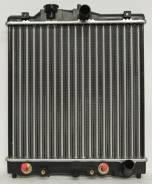 Радиатор охлаждения двигателя. Honda Civic Ferio, E-EG8, E-EG7 Honda CR-X Delsol, E-EG1 Honda Civic, EG4, EG3, E-EJ1, E-EG4, E-EG3, EG6 Двигатели: D15...
