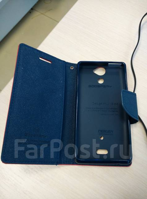 Чехол-книга для Sony Xperia V Lt25i Mercury Fancy Diary Cover Красный