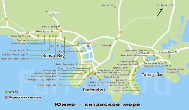 """Санья. Пляжный отдых. Санья - """"Гавайи Востока"""", курорт на тропическом острове Хайнань! Купить"""