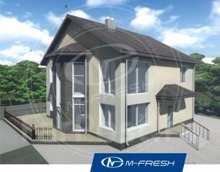 M-fresh Aristotle (В проекте уют обеспечен, фасад витражами отмечен! ). 200-300 кв. м., 2 этажа, 6 комнат, бетон