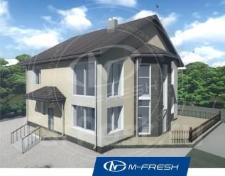 M-fresh Aristotle-зеркальный (Из блоков этот дом, тепло, уютно в нём! ). 200-300 кв. м., 2 этажа, 6 комнат, бетон