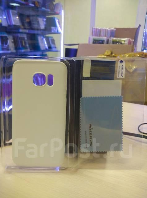 Чехол-накладка для Samsung Galaxy S7 Nillkin Super Frosted Shield Белый