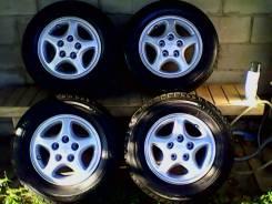 """Комплект разношироких колес, R14 оригинал Toyota MR2, зад 7j перед 6j. 6.0/7.0x14"""" 5x114.30 ET45/45 ЦО 69,0мм."""