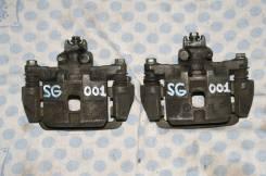 Суппорт тормозной. Subaru Forester, SG5, SG