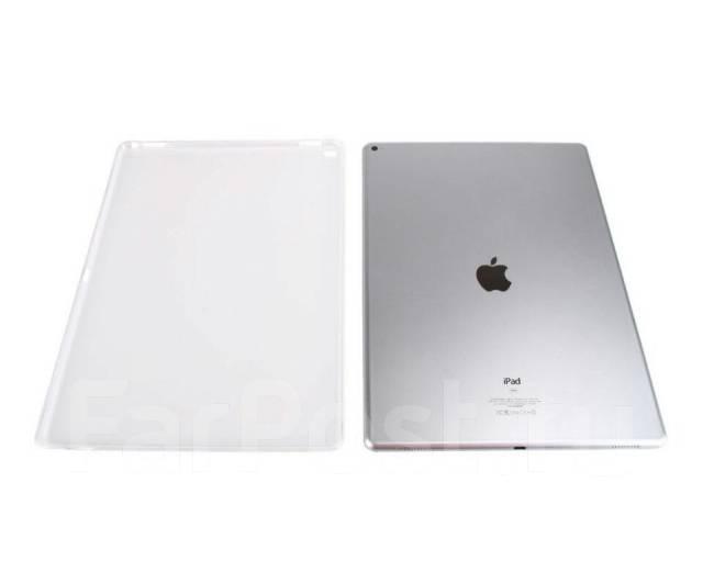 Силиконовый чехол-накладка для iPad Pro TPU Case прозрачный