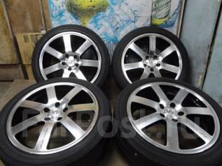 Продам Стильные модные колёса Sport Technic+Лето225/45R18Toyota, Nissan. 7.5x18 5x114.30 ET48