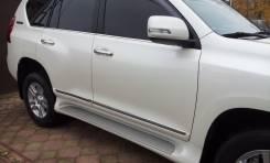 Накладка на дверь. Toyota Land Cruiser Prado, GDJ150L, GDJ150W, GDJ151W, GRJ150, GRJ150L, GRJ150W, GRJ151, GRJ151W, KDJ150L, TRJ150, TRJ150W. Под зака...