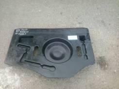 Панель пола багажника. Toyota Corolla Fielder, NZE121G Двигатель 1NZFE