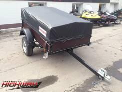 Курганские прицепы Стандарт 821301. Прицеп к легковому а/м, 475 кг.