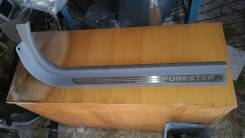Накладка на порог. Subaru Forester, SG5