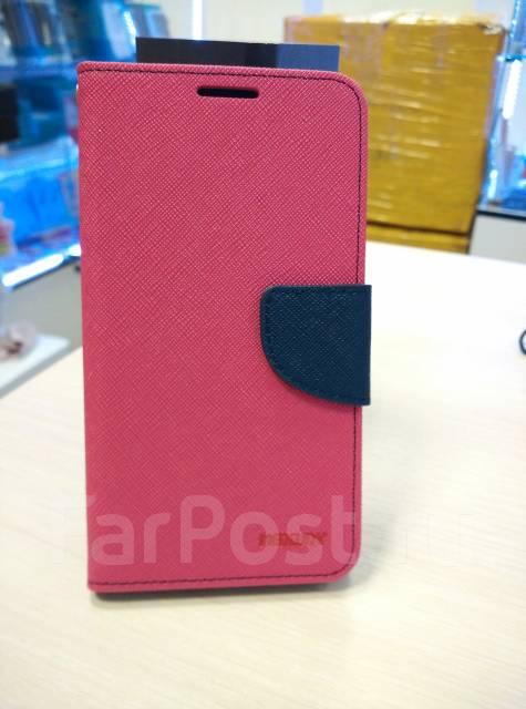Чехол-книга для ASUS Zenfone GO ZC500TG Розовый