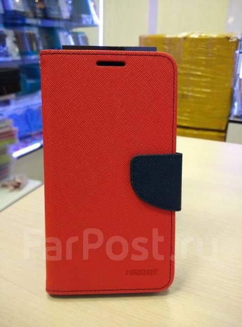 Чехол-книга для ASUS Zenfone GO ZC500TG Красный