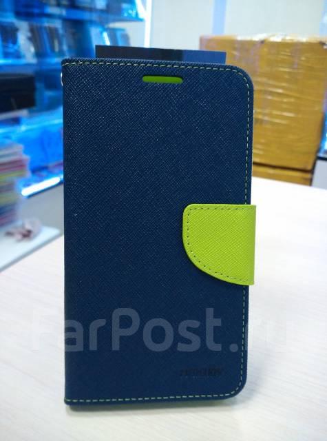 Чехол-книга для ASUS Zenfone GO ZC500TG Темно-синий