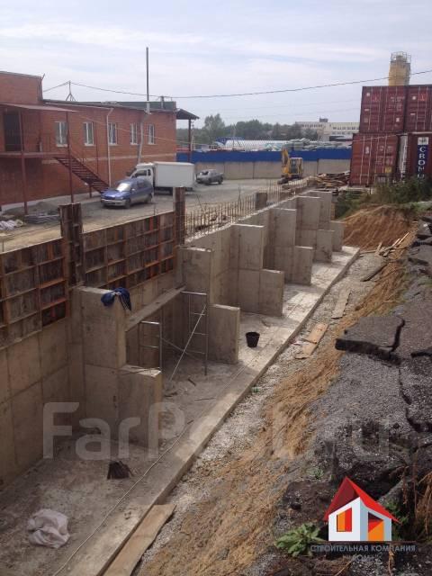 Мы любим монолит (подпорные стены, фундаменты, каркасы зданий, заборы)