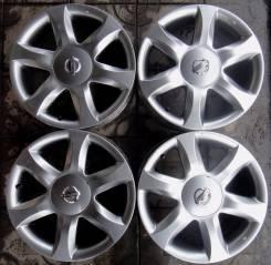 Nissan. 7.0x17, 5x114.30, ET55, ЦО 66,0мм.