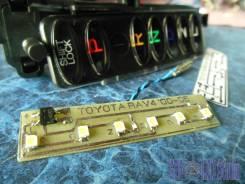 Плата led-подсветки селектора АКПП Toyota RAV4 (2001-2005)