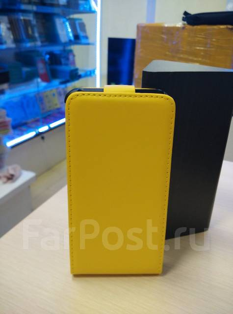 Чехол для Sony Xperia V Lt25i Желтый