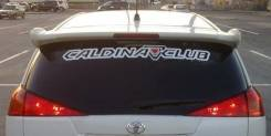 Наклейка. Toyota Caldina