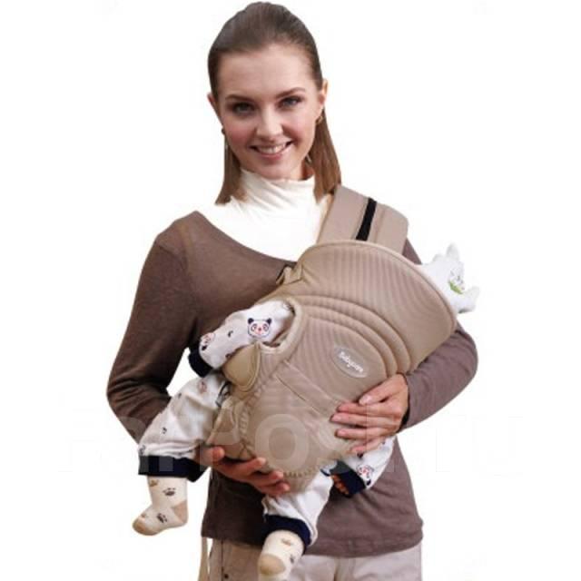 191147398666 Сумка-кенгуру Baby Care HS-3184с рождения. Кофейный - Коляски и ...
