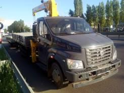 ГАЗ ГАЗон Next. КМУ Газон NEXT + КМУ Soosan 334 Std (нижнее управление), 2 700 куб. см., 3 200 кг.